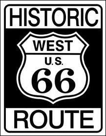 Historic Route 66 Shield Sign (SOLD OUT)