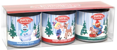 Rudolph and Friends Hot Cocoa Gift Set