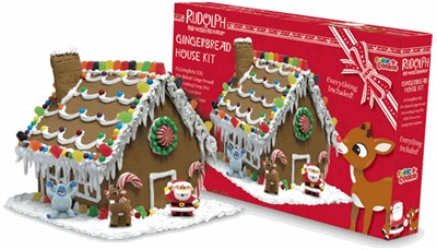 Rudolph the Red Nose Reindeer Gingerbread House (discontinued)