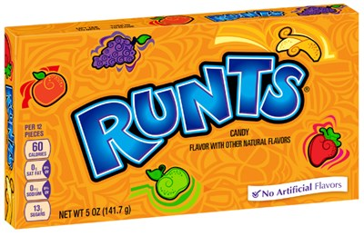 Runts Candy Theatre Size Boxes 12ct.