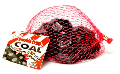 Santa's Chocolate Coal Bag SAVE 50%