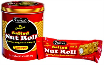 Salted Nut Rolls Candy Filled Tin (sold out)