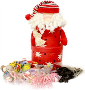 Santa Tower Candy Gift Box  (Sold Out)