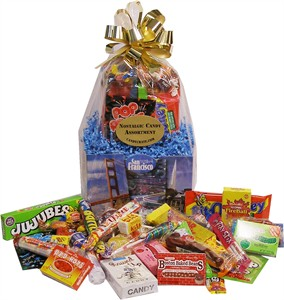 SAN FRANCISCO NOSTALGIC CANDY BASKET (DISCONTINUED)