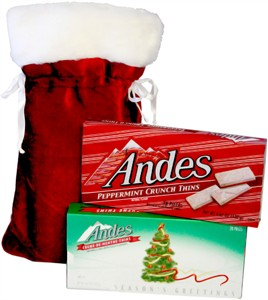 Santa's Holiday Theater Candy Sack (sold out)