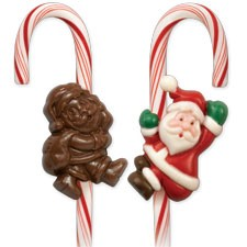 Santa Claus Candy Cane Mold (sold out)