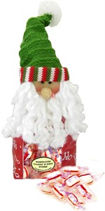 Santa Ho Ho Ho Peppermint Puff Bag