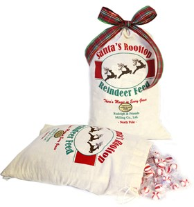 Santa's Rooftop Reindeer Feed Peppermint Puffs Bag SAVE 15%