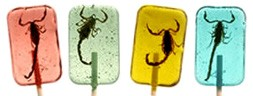 <strong>Scorpion Candy Suckers </strong>