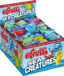 Gummi Sea Critters Candy 60ct