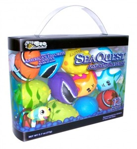 Sea Quest Aquatic Easter Eggs Filled with Candy 12ct.