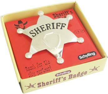 Sheriff Badge (sold out)