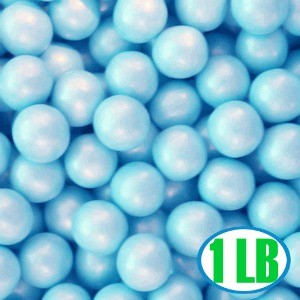 Shimmer Gumballs 1/2-inch - Blue 1LB (sold out)