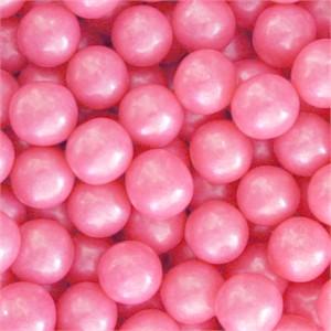 Shimmer Gumballs 1/2-inch - Hot Pink 2LB