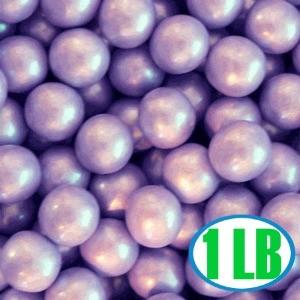 Shimmer Gumballs 1/2-inch - Purple 1LB