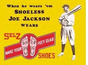 Shoeless Joe Jackson Shoes (SOLD OUT)
