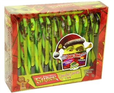 Shrek Candy Canes 12ct. (DISCONTINUED)