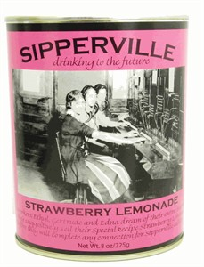 Sipperville Retro Strawberry Lemonade Drink Mix 8oz. (SOLD OUT)