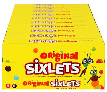 Sixlets Theater Size Boxes 15ct.