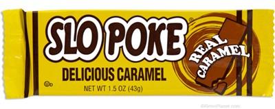 Slo Poke Classic Caramel Candy Bar