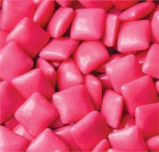 Pink Chiclets Dubble Bubble Bubble Gum 5LB