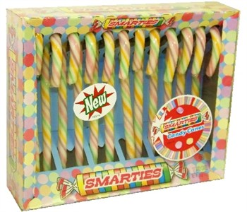 Smarties Candy Canes 12ct.