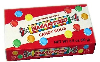Smarties Theater Size Boxes 12ct.