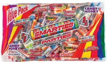 Smarties Parties Assorted Candy 2.5LB