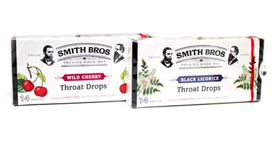 Smith Brothers Cough Drop Boxes - 2ct.