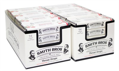 Smith Brothers Cough Drop Boxes 20ct