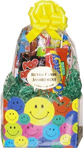 Smiley Face Candy Gift Basket (Sold Out)