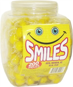 Smiles Gumballs 200ct Tub (DISCONTINUED)