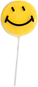 "Smiley Face 3"" Lollipops 12ct."