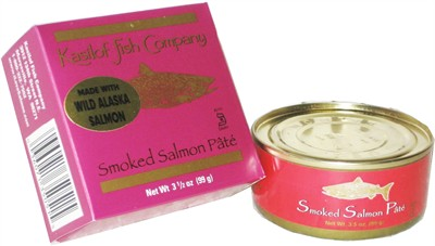 Smoked Salmon Pate with Wild Alaska Salmon 3.5oz. (Sold out)