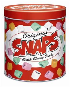 Snaps Original Licorice Collectors Tin 12oz (DISCONTINUED)