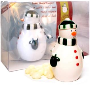 Snowman Pooper Candy Dispenser