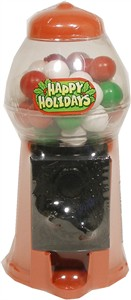 Happy Holidays Peewee Gumball Machine (Sold Out)