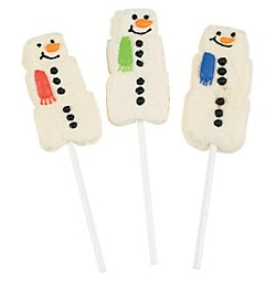 Snowmen Marshmallow Suckers 12ct.
