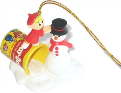 Snowman Play-doh Christmas Tree Ornament (sold out)