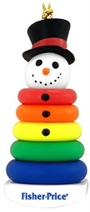 Snowman Stack 'em Christmas Tree Ornament (Sold Out)