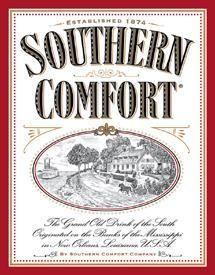 Southern Comfort Established 1874 Tin Sign