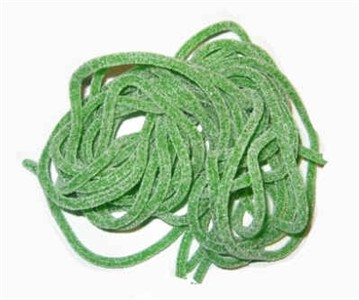 Sour Laces Green Apple 2LB