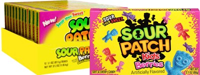 Sour Patch Kids Berries Theater Size 12ct.