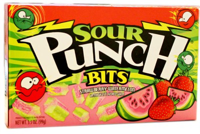 Sour Punch Bits Theater Size - Strawberry Watermelon (sold out)
