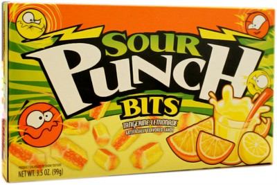 Sour Punch Bits Theater Size - Tangerine Lemonade (sold out)