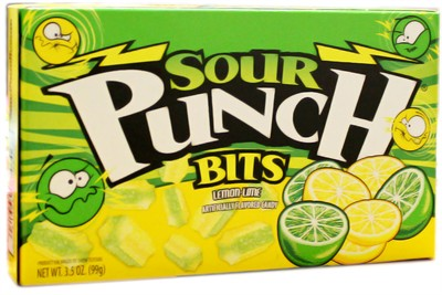 Sour Punch Bits Theater Size - Lemon Lime (sold out)