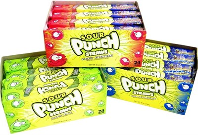 Sour Punch Straws 24ct. (SOLD OUT)