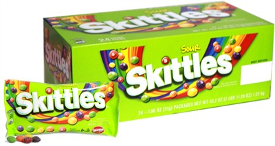 Sour Skittles Candy 24ct.