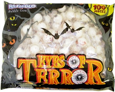 Eyes of Terror Bubble Gum 100ct. (Discontinued)