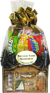 Outdoors Retro Candy Gift Basket (SOLD OUT)